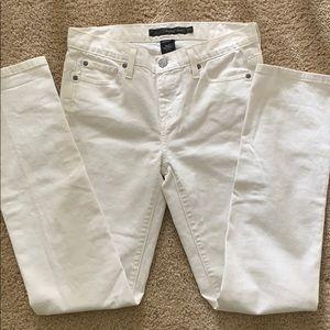 Calvin Klein Skinny Jeans White 27/4 EUC